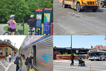 There are many transit options in Michigan and a complete transportation funding program would support all of them.