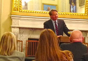 U.S. Senator Gary Peters meets with members of the Michigan Municipal League in Washington D.C. Tuesday, March 8, 2016.