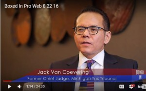Attorney Jack Van Coevering is featured in 'Box In'.