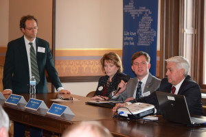 State legislators speak at the Legislative Committee Kick-Off Orientation Thursday.